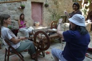 courtyard-spinning