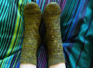 גרביים ירוקות